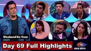 Bigg Boss 12 : Watch Day 69 Full Highlights | BB 12 | Weekend Ka Vaar