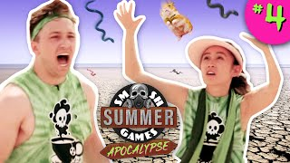SLIPPERY SNAKES CHALLENGE | Smosh Summer Games: Apocalypse