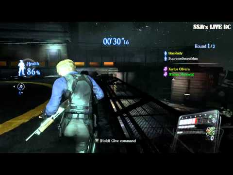 Resident Evil 6 PC DLC Siege World Top Ranker Play 3