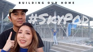 #SkyPod Tour- Building Our Home | Kryz and Slater