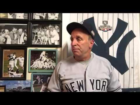 Baseball- NY Yankee locker room