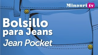 DIY - Bolsillo de Jean ( Jeans type pocket )