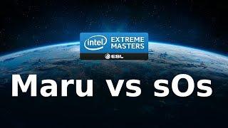 Starcraft 2 - IEM - TvP - Maru vs sOs