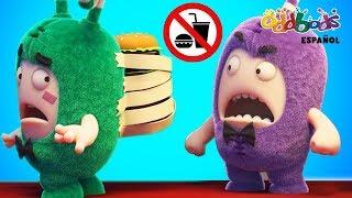 Oddbods | Nuevo Fiasco de Comida | Dibujos Animados Graciosos Para Niños