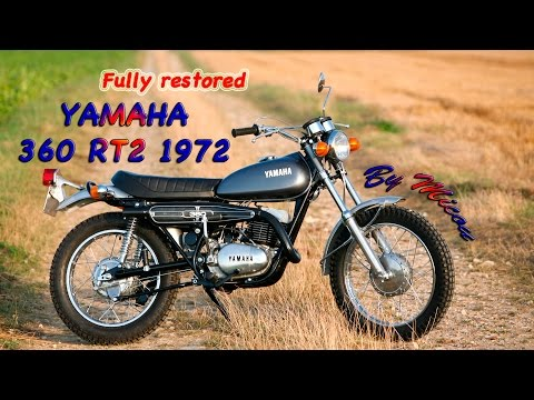 1972 Yamaha 360 RT2 . Restored better than new from a boneyard scrap .