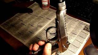 CO2 Makarov pistol with a suppressor
