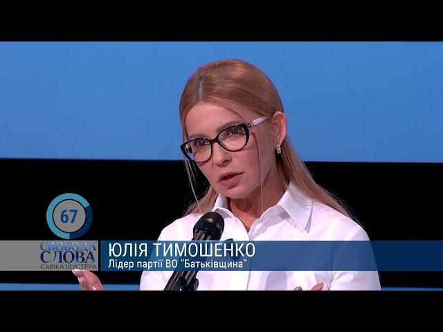 Щоб не зруйнувати життя і здоров'я людей, бізнесу не можна виходити за межі - Тимошенко