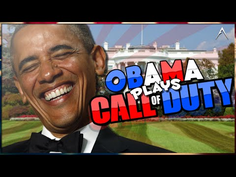 Obama Plays Call Of Duty Black Ops 2 Reaction