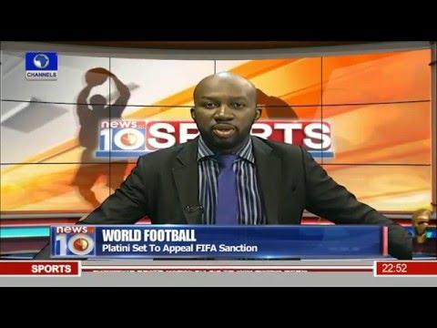 News@10: Nigeria's Flamingoes Thrash Namibia 4-0 09/01/16 Pt.4