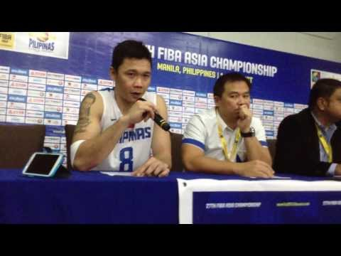 Gary David talks about breaking his slump at the FIBA Asia Championships
