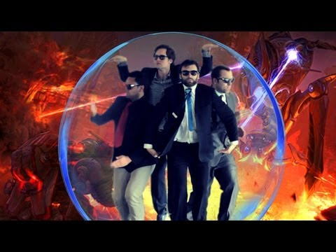 OP Protoss Ball (Gangnam Style) Starcraft Parody - Viva La Dirt League