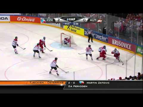 Czech Republic vs Austria 4-0 2015-05-08 IIHF 2015 WC HIGHLIGHTS Swedish/Svenska