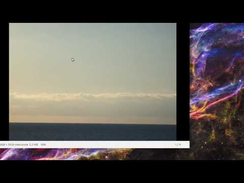 Море НЛО Сочи 271017 Sea UFO Sochi