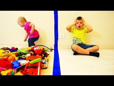 Матвей РАЗДЕЛИЛ все ИГРУШКИ!!! Потом ПОЖАЛЕЛ об этом! Видео для детей Video For Kids Матвей Котофей