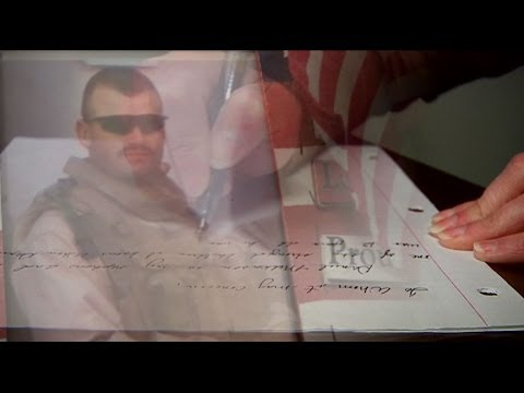 A Hero's Story, A Family's Sacrifice: Fallen hero's son carries on his father's values