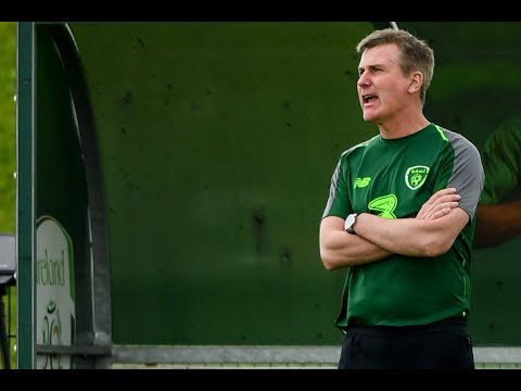 INTERVIEW   Republic of Ireland U-21 manager Stephen Kenny on training match