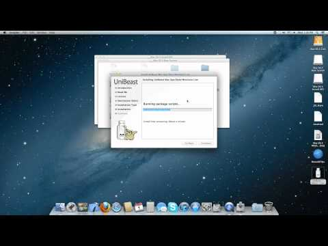 How to create bootable USB Flash using UniBeast and Mac OS 10.8 DMG