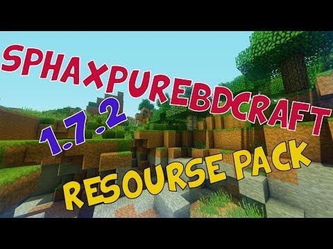 Sphax PureBDCraft Texture Pack - Minecraft 1.7.2