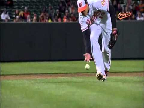 Manny Machado 2013 First Half Defense