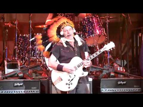 Ted Nugent - Great White Buffalo Live at The Chance in Poug