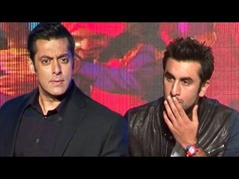 Salman Khan makes a dig on Ranbir Kapoor's Besharam