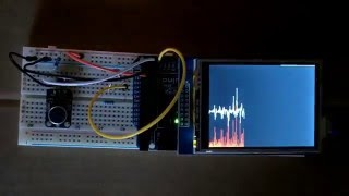 Arduino Analog Graph on TFT Touch Screen