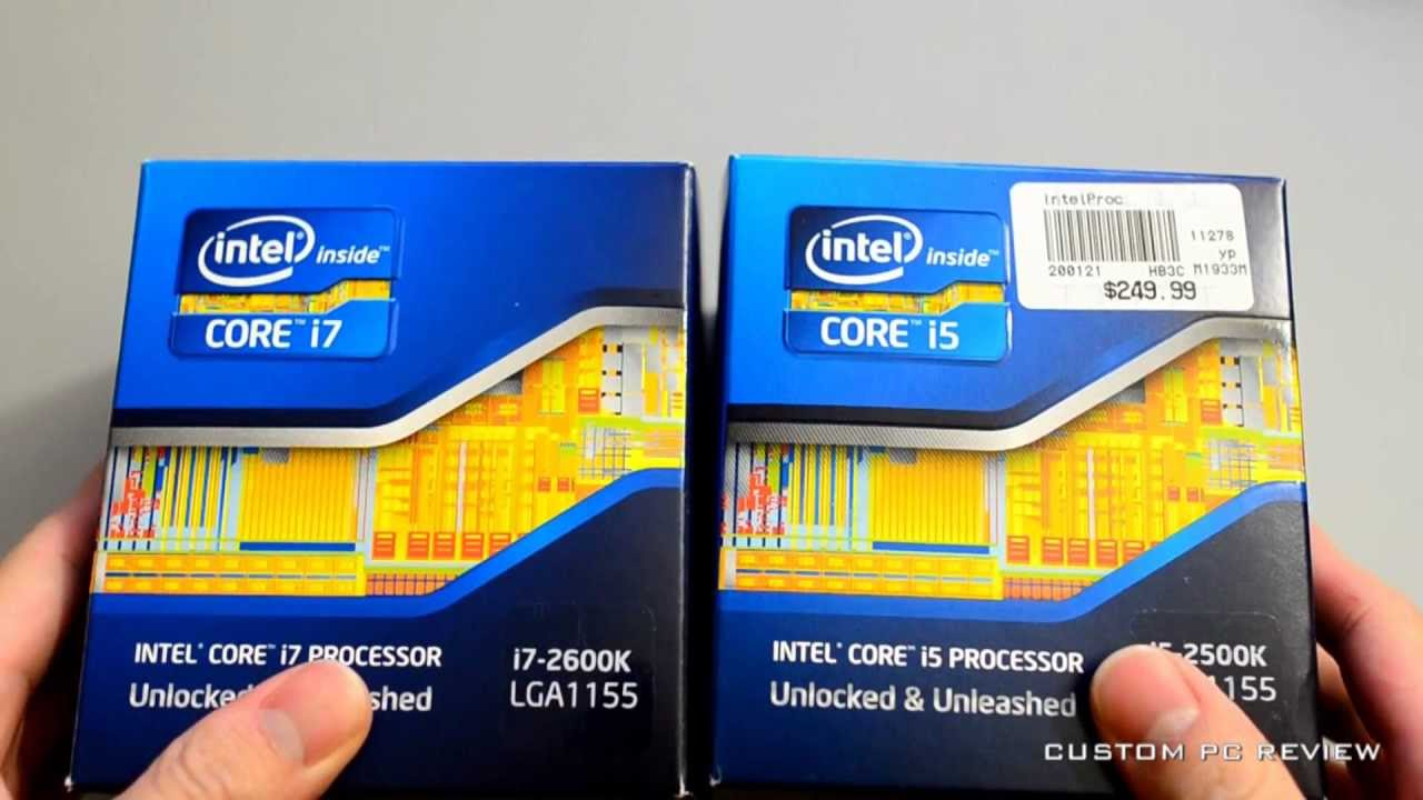 q a intel core i5 2500k vs i7 2600k buying advice youtube. Black Bedroom Furniture Sets. Home Design Ideas
