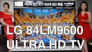 LG 84LM9600 4K Ultra HD television first impressions and interview