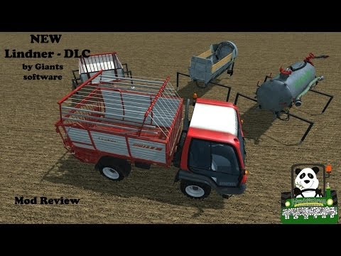Lindner -DLC by Giants Software Mod Review FS2013
