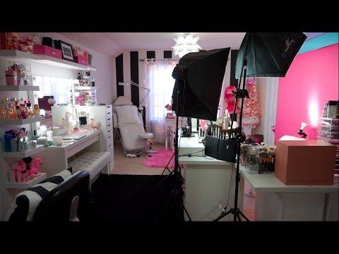 Beauty Room Tour + Filming Setup 2017