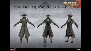 Shadow Fight 3 Chapter 5 New Master's Set And Weapon And 3 Epic Booster Pack | GamerTSX