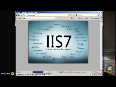 Windows 2008 Server - Como Instalar o Servidor WEB IIS 7 INTRANET - Aula 12.1