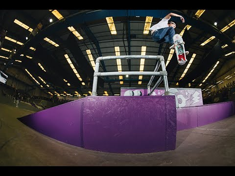 NASS 2017 - Welcome Skateboards demo.