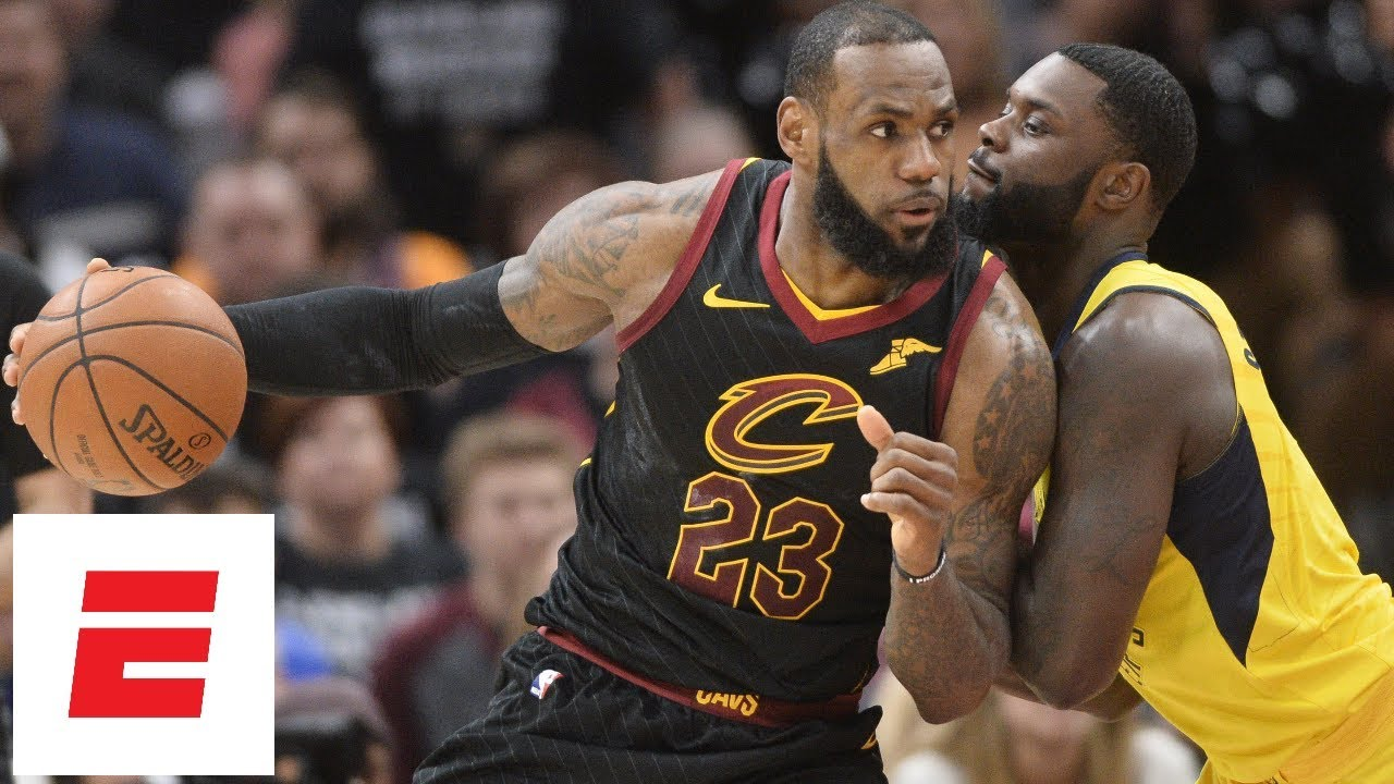 LeBron James erupts for big first half in Game 7 vs Indiana Pacers | ESPN