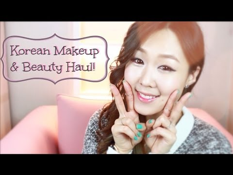 Huge Korean Makeup & Beauty Haul ♥ 최신 한국 화장품 득템