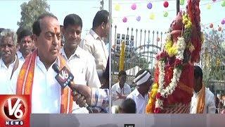Dy CM Kadiyam And Minister Indrakaran Reddy Visits Medaram Sammakka Saralamma Jatara