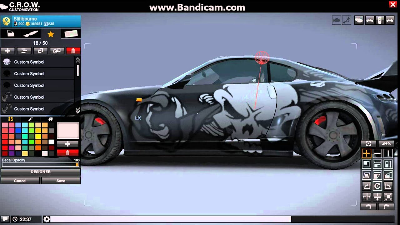 Customize Your Car Online Game