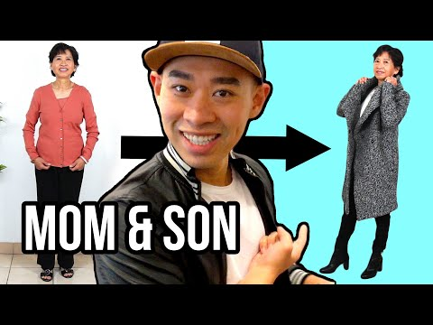 An Adult Son Dresses His Mom For A Week thumbnail