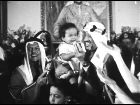 King Saud's Historic Visit to USA ز�ارة ا���� سع�د ا�تار�خ�ة �ا�ر��ا