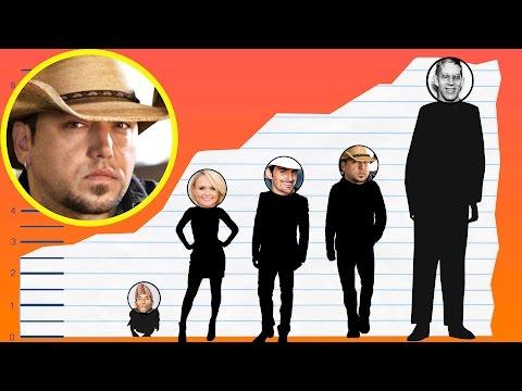 How Tall Is Jason Aldean? - Height Comparison!
