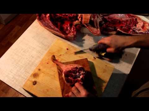 Как разделать гуся - видео