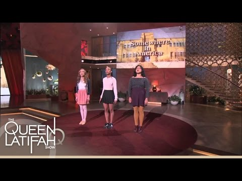 Changing the World, One Word at a Time! | The Queen Latifah Show