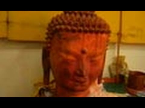 Making of Buddha Statues