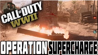 NEW WAR MAP 'OPERATION SUPERCHARGE' ON CALL OF DUTY WWII!