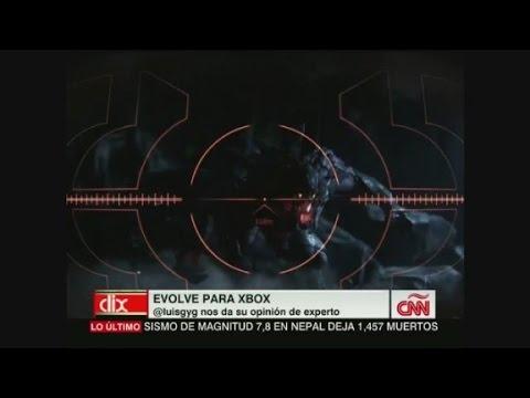 EN CNN CLIX LUIS G Y G SE TOMA EL JUEGO EVOLVE EN SERIO