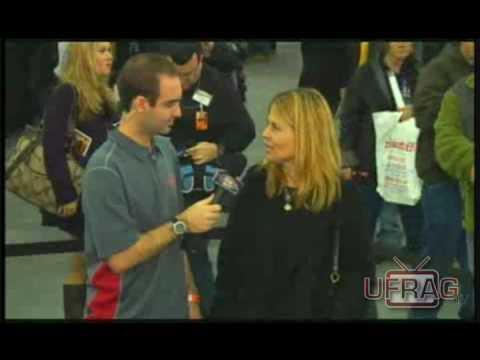 Linda Hamilton Terminator @ Big Apple Con Interview (Part 1)
