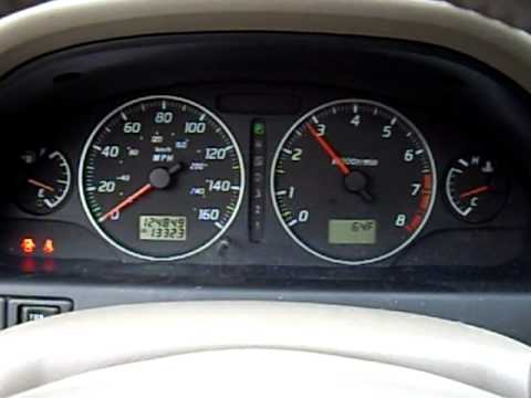 2003 Nissan Maxima Gle V6 3 5 Auto Dash Rev Youtube