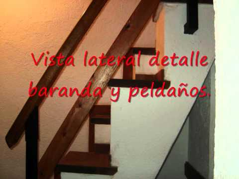 Escalera espaci reducido youtube for Modelos de gradas