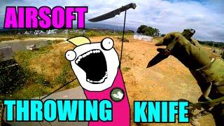 MID-AIR THROWING KNIFE HEADSHOT   Pistol Gameplay