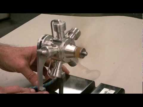 Five Cylinder Air Radial Engine By Terry Mayhugh Youtube